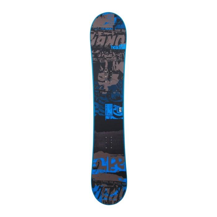 Snowboard-Anlass Head Flocka LFW + Rumpfbefestigung