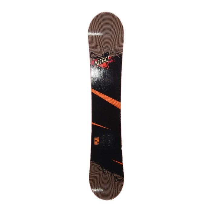 Snowboard occasion Nitro lectra + fixation coque