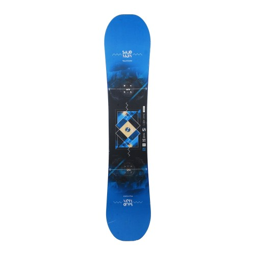 Snowboard occasion Salomon Wildcard + fixation coque