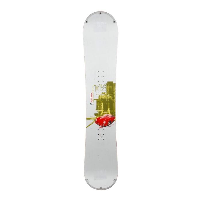 Snowboard occasion Junior Rossignol accelerator + fixation coque