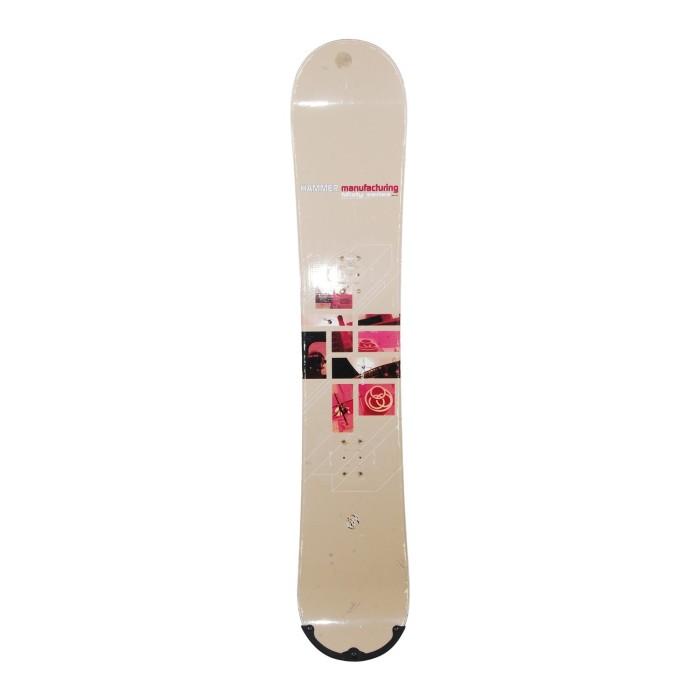 Snowboard gebraucht Hammer Misty Series + Befestigung Rumpf