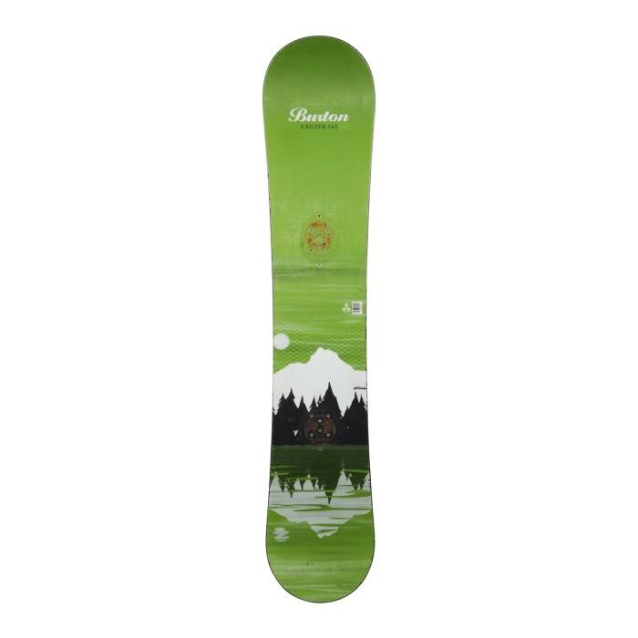 Snowboard gebraucht Burton cruzer + Befestigung Schale