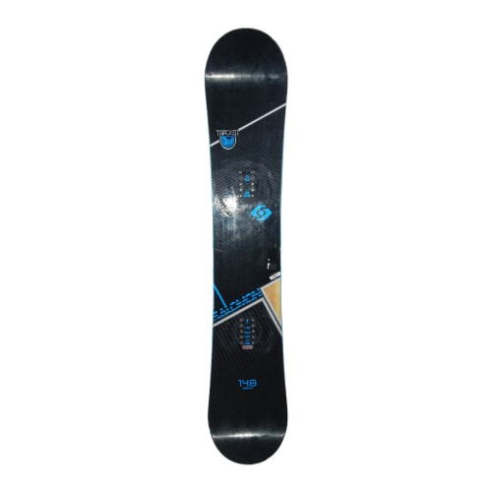 Snowboard-Anlass Salomon Tracker + Befestigung Schale