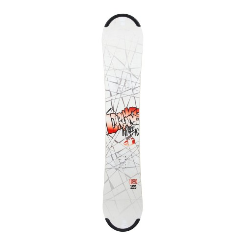 Snowboard occasion Drake Traffic + fixation coque