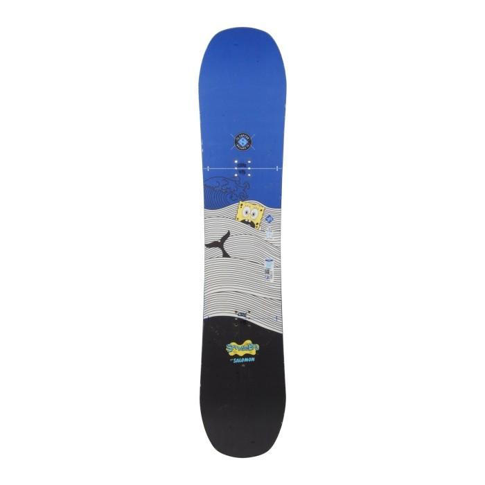Snowboard-Anlass Junior Salomon El Capitan + Rumpfbefestigung