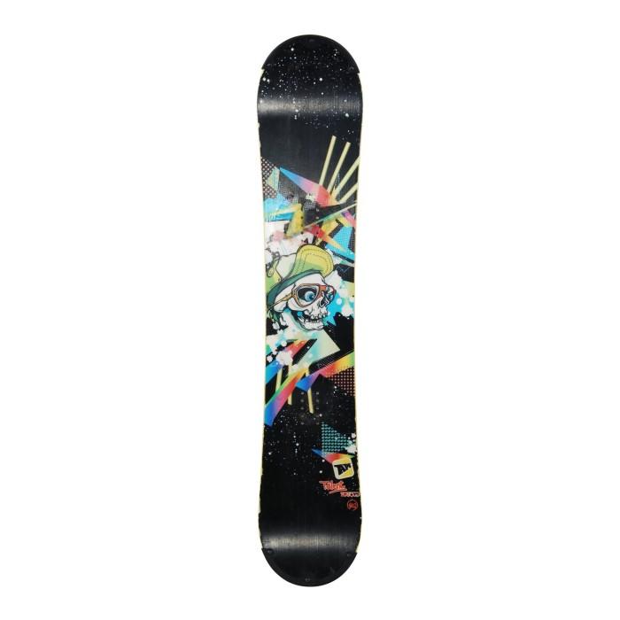 Snowboard occasion junior Apo talent + fixation coque