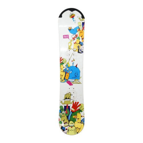 Snowboard occasion Junior Atomic Mighty D+ fixation coque