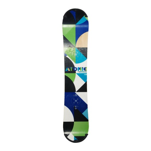 Snowboard occasion Atomic terminal + fixation coque
