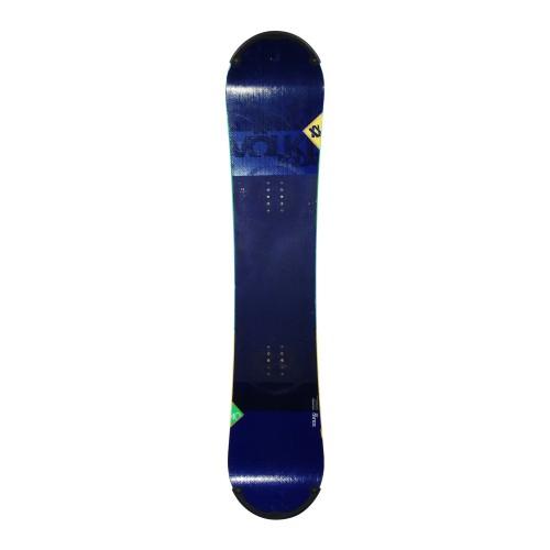 Snowboard occasion junior Volkl Squad + fixation coque
