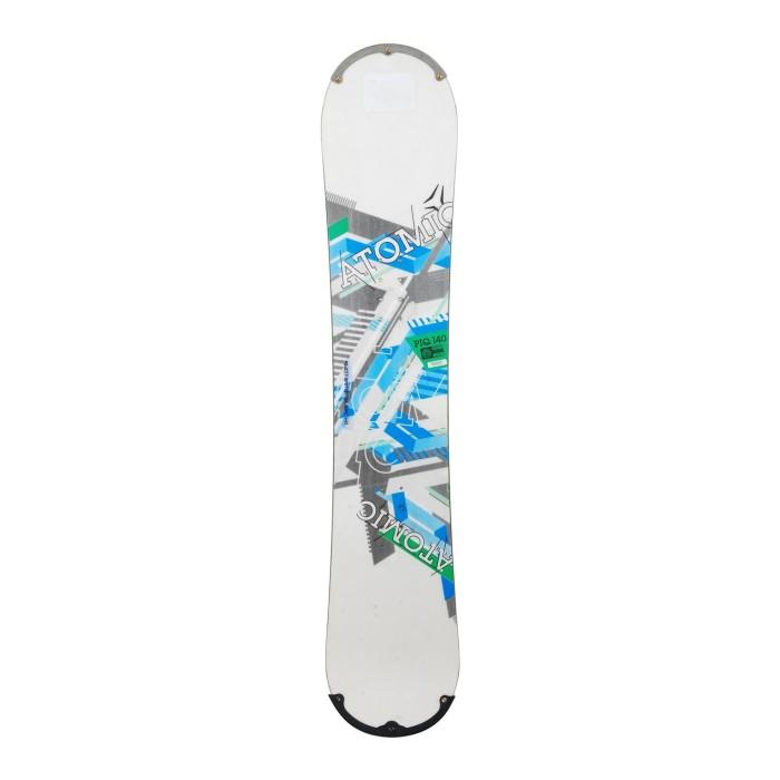 Snowboard occasion Atomic PIQ + fixation coque