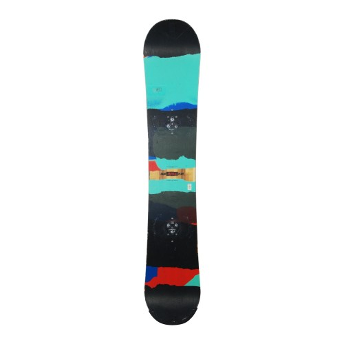 Snowboard occasion Burton Process flying V + fixation coque