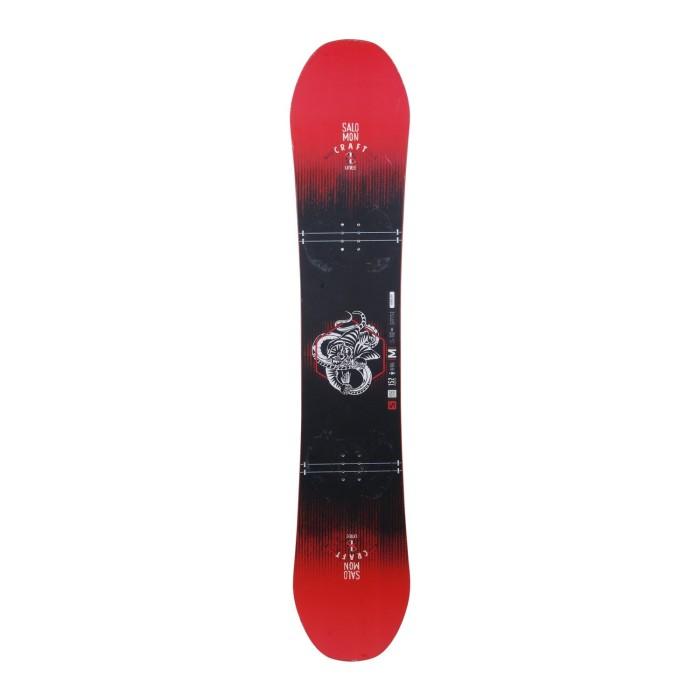Snowboard-Anlass Salomon Unite Craft + Befestigung Schale