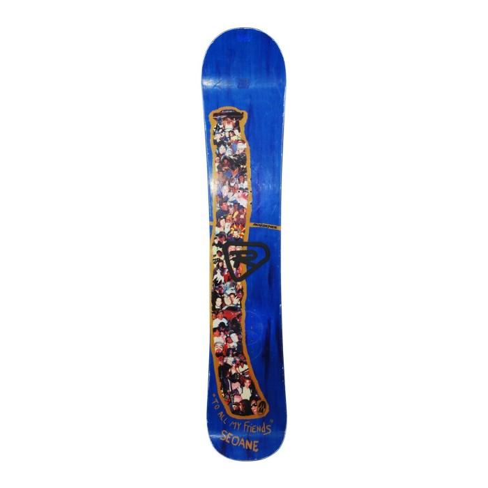 Snowboard occasion Rossignol Seoane + fixation coque