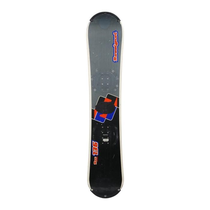 Snowboard occasion junior Rossignol Roc + fixation coque