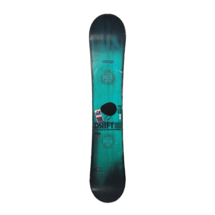 Snowboard occasion Salomon Drift + fixation coque