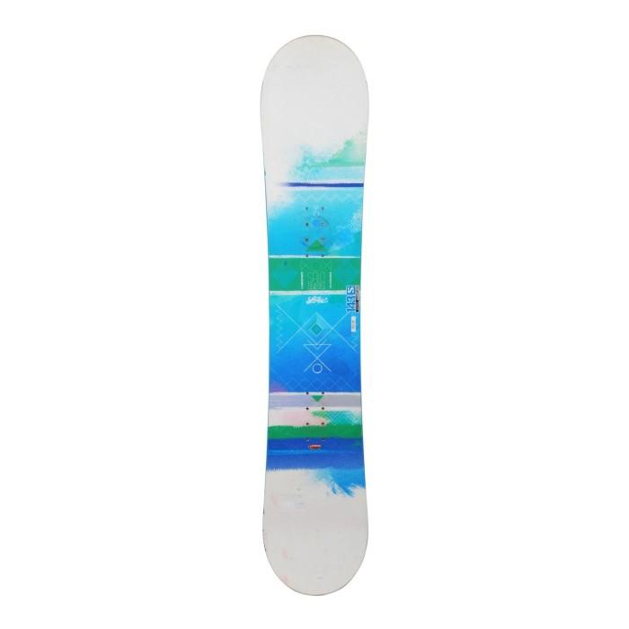 Snowboard utilizado Salomon w Lotus - fijación del casco