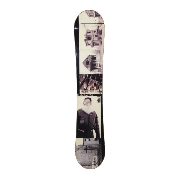 Snowboard-Anlass Nitro Addict Gullwing Rocker + Befestigung Schale