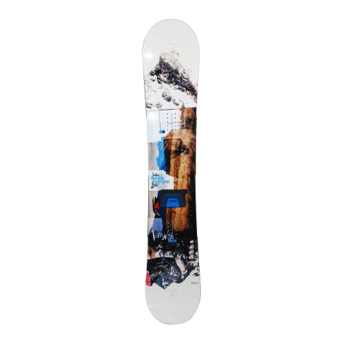 Snowboard occasion Nitro Double exposure + fixation coque