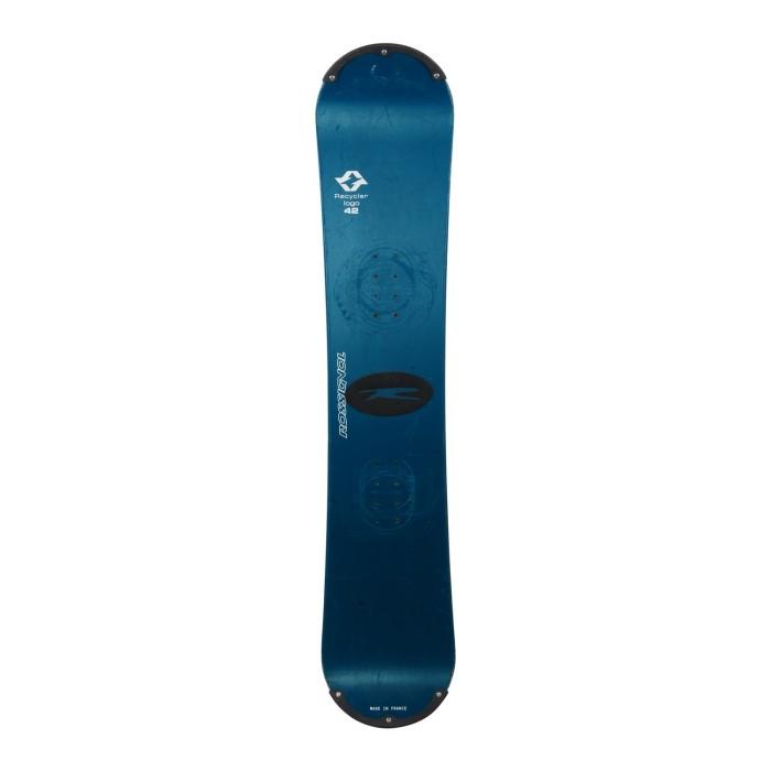 Snowboard-Anlass Nachtigall Logo Recycler + Befestigung Schale