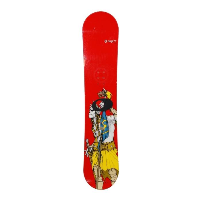 Snowboard occasion junior Rossignol Proline + fixation coque