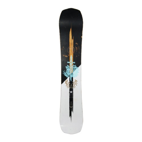Snowboard occasion Salomon Assassin + fixation coque