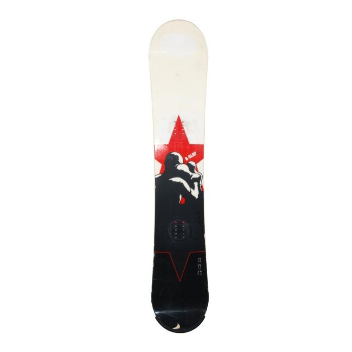 Snowboard occasion Scott B-Slap + fixation coque