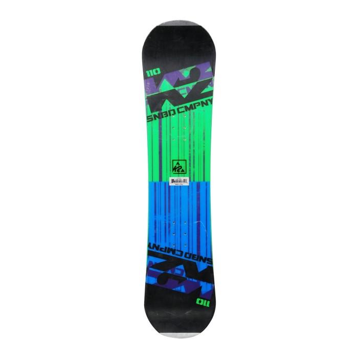 Snowboard junior K2 SNBD Company + Rumpf-Befestigung