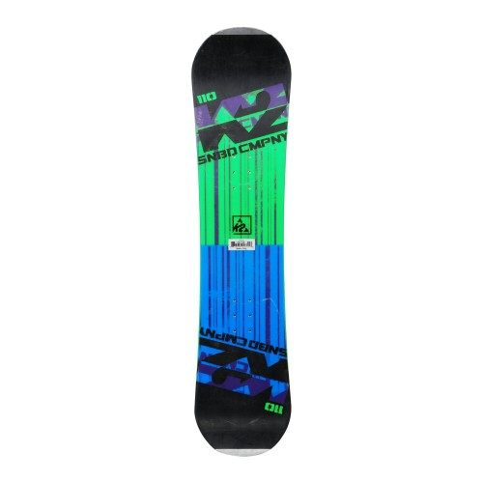 Snowboard occasion junior K2 SNBD company + fixation coque