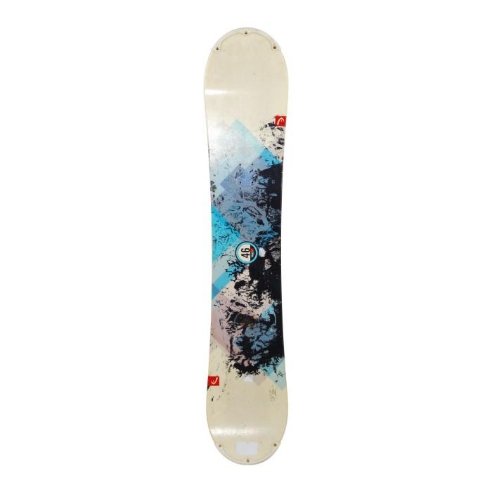Snowboard occasion Head tribute r rocka + fixation coque