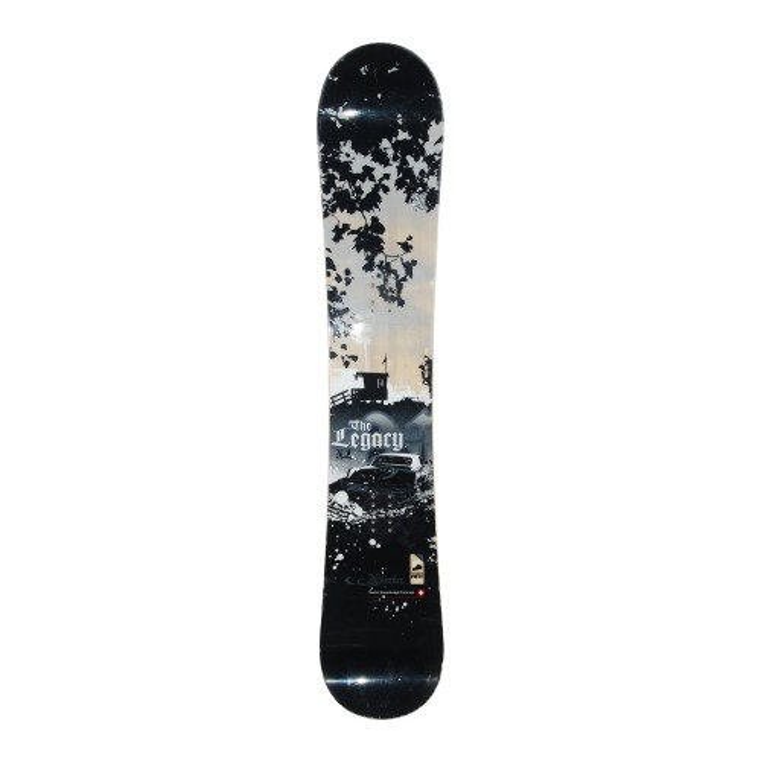 Snowboard-Anlass Nidecker the Legacy + Befestigung Rumpf