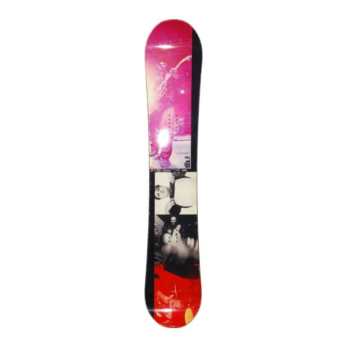 Snowboard occasion Nitro Addict + fixation coque