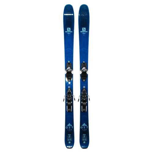 Ski Salomon QST lux 92 occasion + fixations