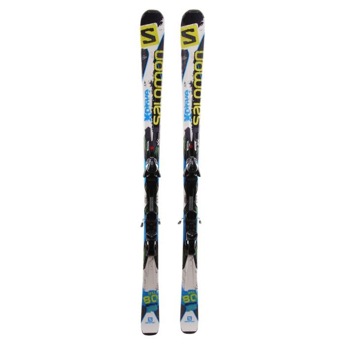 Ski occasion Salomon X Drive 80 rti + Fixations