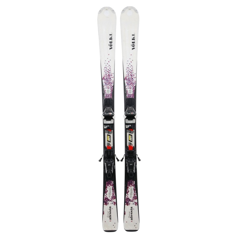 Ski occasion Volkl Essenza Alessia + fixations - Qualité A