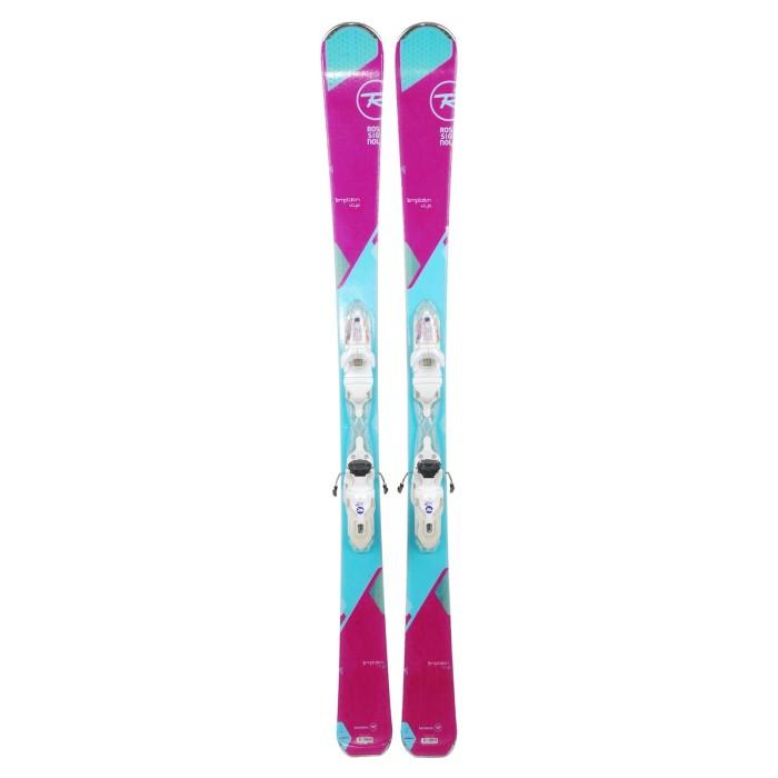 Ski occasion Rossignol Temptation Style + fixations