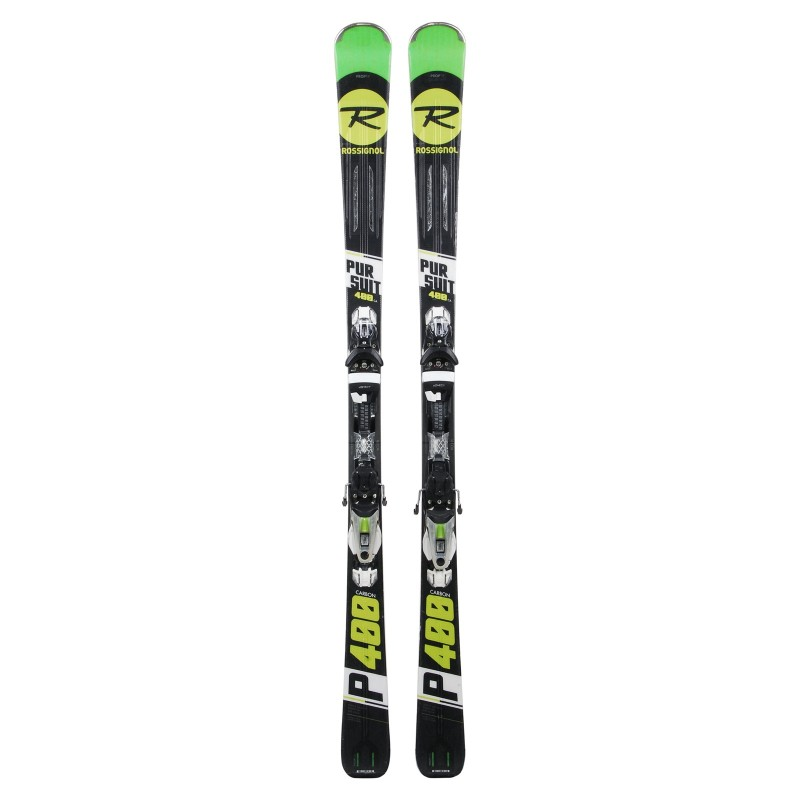 Ski occasion Rossignol Pursuit 400 Carbon + fixations - Qualité A