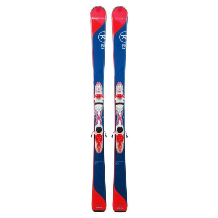Ski occasion Rossignol Temptation 80 + fixations