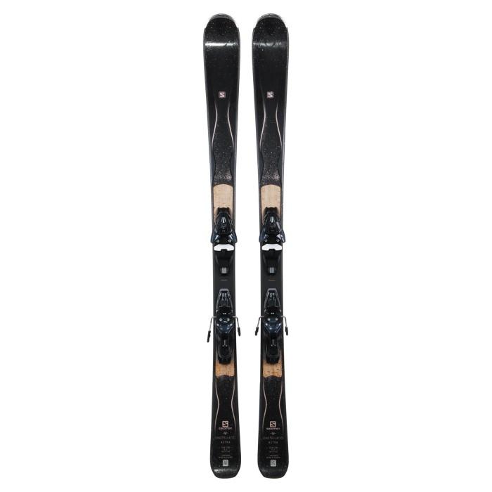 Esquí Salomon Constellation Astra + fijaciones