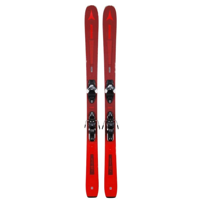 Gebrauchte Ski für Atomic Vantage 97 ti + Befestigungen