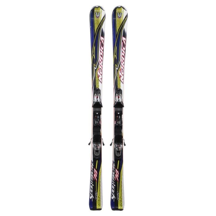 Gebrauchte Skifahren Nordica Sportmachine 74 + Befestigungen