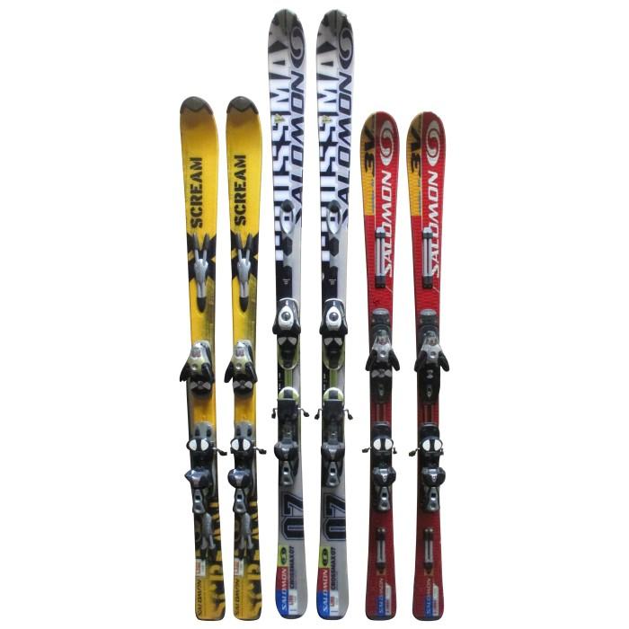 esquí adulto Salomon a 19 € + Ataduras