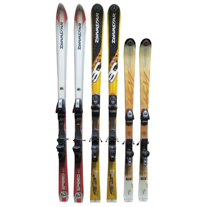 Ski occasion adulte Dynastar à 19€ + Fixations
