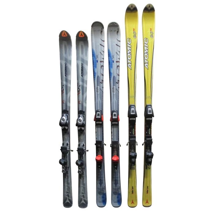 Ski occasion adulte Atomic à 19€ + Fixations