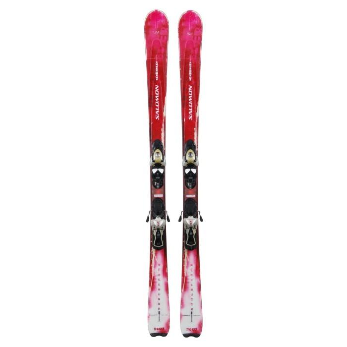 Ski occasion Salomon Scrambler + fixations