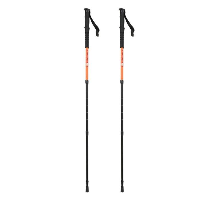 Baton 3 brins aluminium 7075 Makalu orange