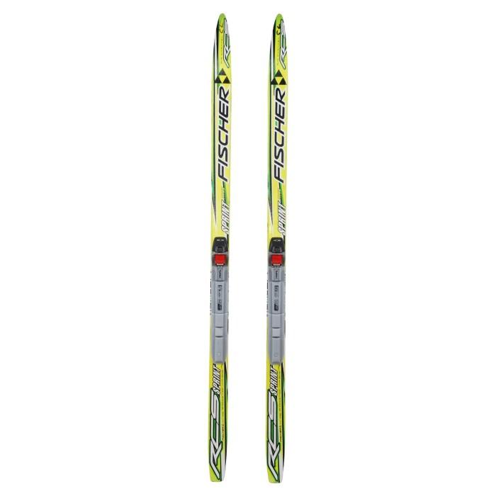 Ski de fond occasion junior Fischer RCS Sprint Crown + fixation SNS profil