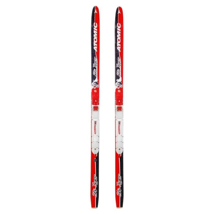 Ski de fond occasion junior Atomic ski Tiger + fixation SNS Profil
