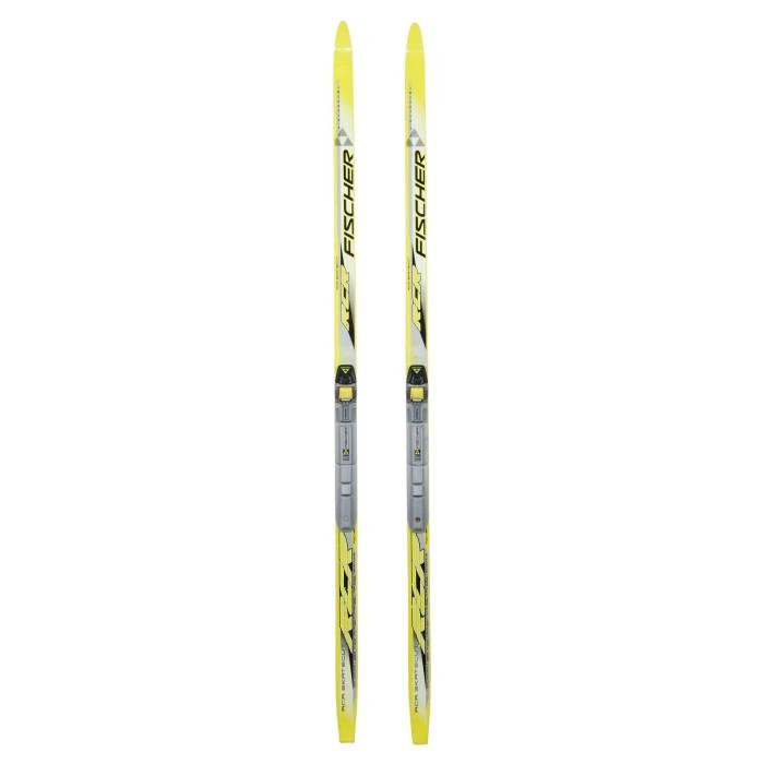 Ski de fond occasion junior Fischer RCR skate + fixation SNS profil