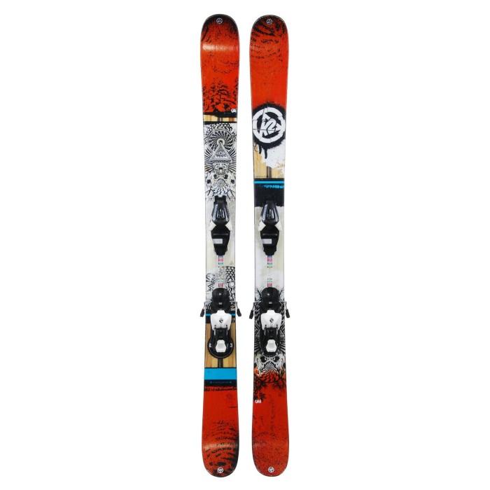 Ski occasion K2 Shreditor 100 Jr + fixations