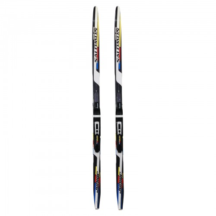 Ski de fond occasion Salomon équipe junior + fixation SNS pilot